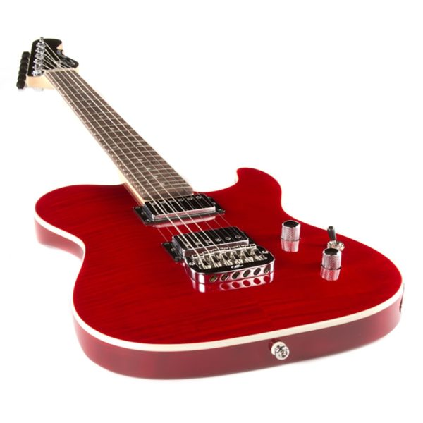 G&L Tribute Asat Deluxe Trans Red
